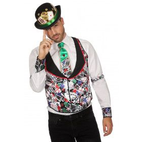 Gilet Casino Poker Flush Man