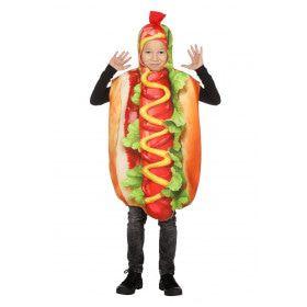 Hotdog Met Extra Veel Mosterd Kind Kostuum