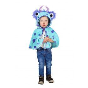 Cape Monster Blauw Sulley Kind Kostuum