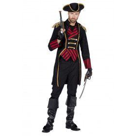 Beruchte Piraat William Kidd Kapitein Man