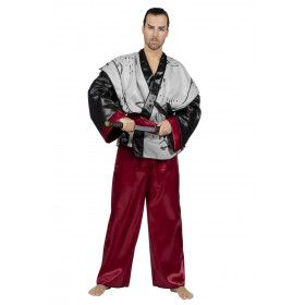 Japanse Samurai Van Eer Bushido Man Kostuum