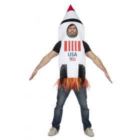 Raket Naar De Maan Nasa USA Kostuum