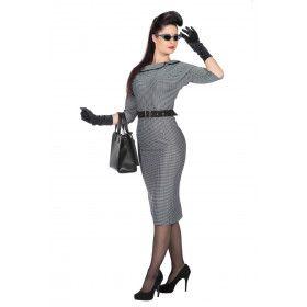 Rockabilly 50s Jackie Kenjedie Vrouw Kostuum