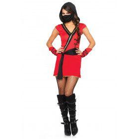 Wonderland Mystic Ninja Vrouw Kostuum