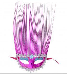 Oogmasker Roze Met Lange Punten