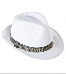 Fedora Deukhoed Panama Wit
