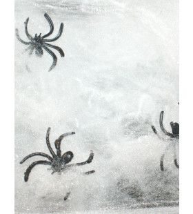Jumbo Witte Spinnenweb