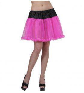 Petticoat Zwart / Roze