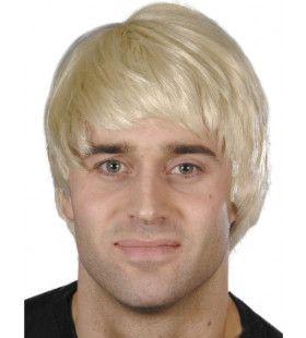 Barney Rubble Blonde Pruik