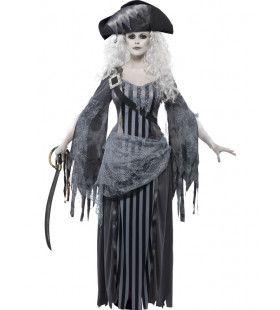 Geest Pirate Uit De Dood Vrouw Kostuum