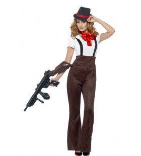 Glamour Gangster Vrouw Kostuum