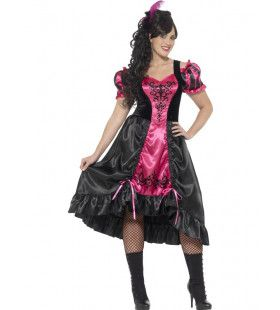 Sizzling Salon Dame Maatje Meer Vrouw Kostuum