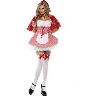Hete Roodkapje Uit Je Dromen Vrouw Kostuum