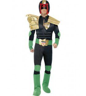 Judge Dredd Man Kostuum