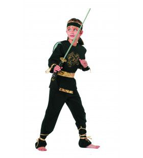 High Kick Ninja Dragon Jongen Kostuum