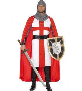 Stoere St George Ridder Man Kostuum