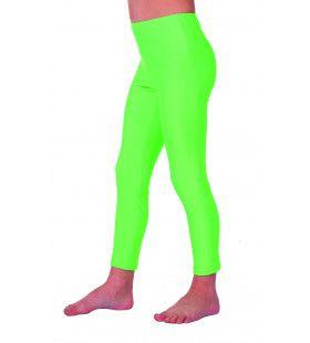 Green Disco Legging Kinderen Meisje