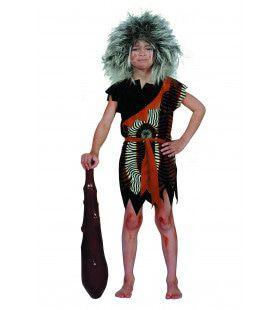 Prehistorisch Oermens Velboa Afrika ( Kind) Jongen Kostuum