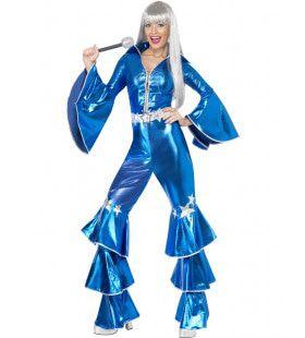 Abba Seventies Dancing Queen Vrouw Kostuum