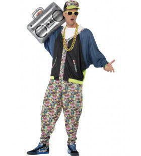 Jaren 80 Hip Hop Man Kostuum