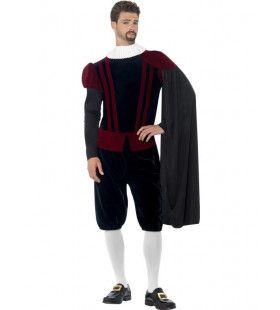 Hoogheid Tudor Middeleeuwen Man Kostuum