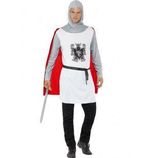 Strijdende Ridder Man Kostuum