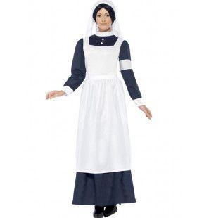 2e Wereldoorlog Verpleegster Vrouw Kostuum