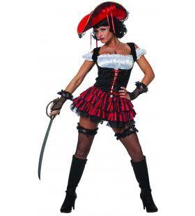 Oostzee Sexy Pirate Vrouw Kostuum