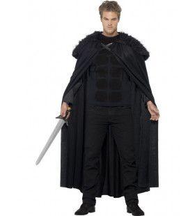 Donkere Strijder Barbaar Man Kostuum
