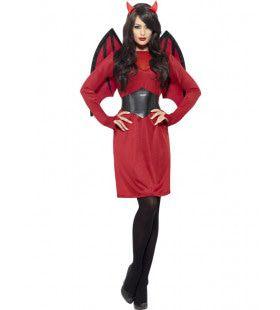 Dames Rode Duivel Vrouw Kostuum