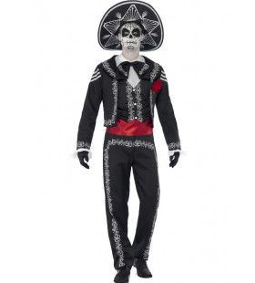 Day Of The Dead Senor Bones Man Kostuum