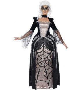 Zwarte Barones Vrouw Kostuum