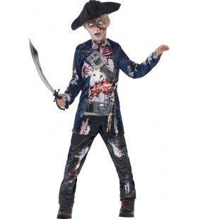 Luxe Jolly Rotten Piraat Jongen Kostuum