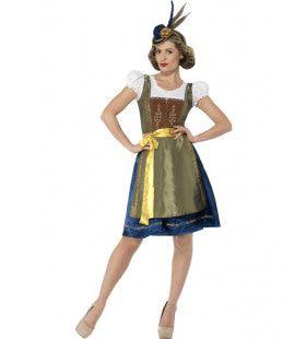 Luxe Beirse Heidi Vrouw Kostuum