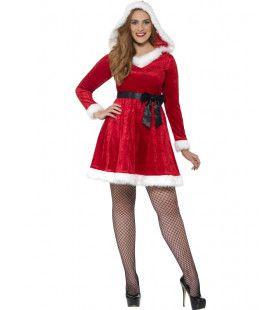 Kerstman Jurk Vrouw Maatje Meer