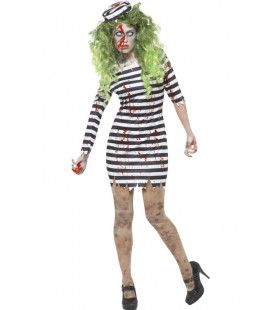 Zombie Gevangene Mw Convictia Vrouw Kostuum
