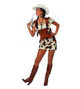 Cowgirl Ringo Star Vrouw Kostuum