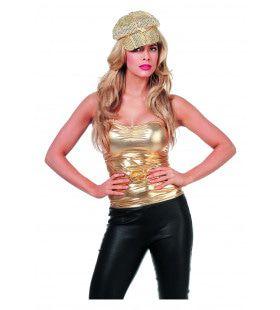 Gouden Topje Ms Bling Vrouw