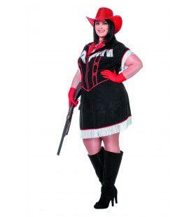 Linegirl Cowgirl Jessie Vrouw Plus Size Kostuum