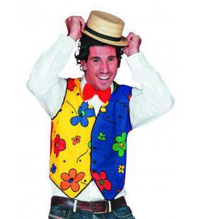 Mr Payaso Vest Bloem Man