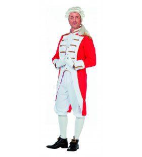 Milord Cavalry Garde Man Kostuum