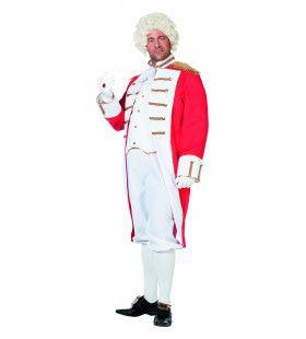 Milord Cavalry Garde Man Plus Size Kostuum