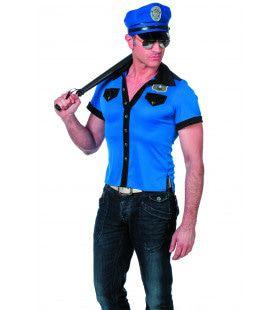 Village People Politie Shirt Man Kostuum