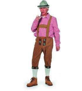 Herr Pinter Tirolerhose Suedine Lang Man