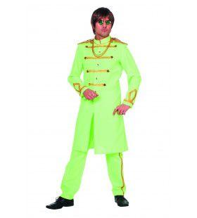 Groene Sgt. Pepper Van De Beatles Man Kostuum