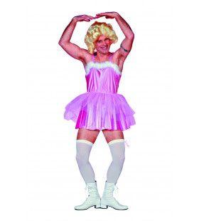 Travestiet Ballerina Herrnballet Man Kostuum