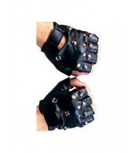 Beslagen Punk Handschoenen