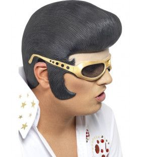 Officiele Elvis Hoofddeksel Met Rubberen Bril