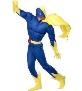 Officieel Bananaman Superheld Man Kostuum