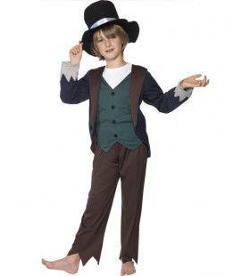 Victoriaans Arme Jongen Kostuum